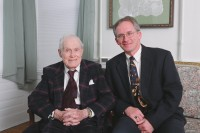 Photo of Alvin Bird and Steven Evans